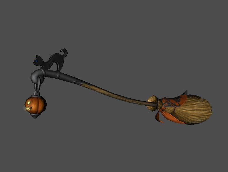 FFXIV Heavensward Halloween Event  Items Preview