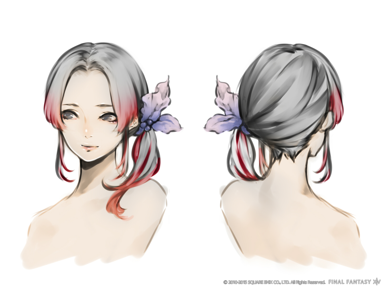 The probable Winners  for the Hairstyle Design Contest