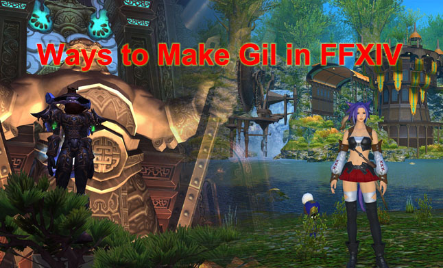 Ways to Make Gil in FFXIV