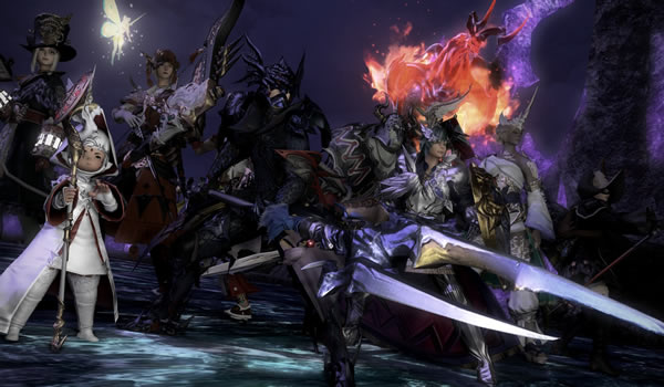 Square Enix And Fantasy XIV: Three World Records News