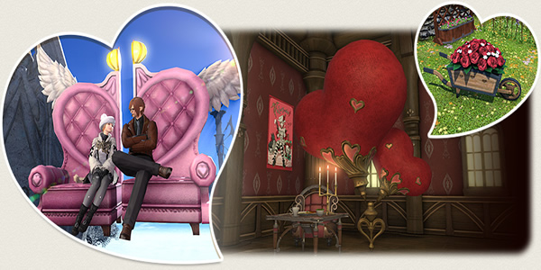 The Valentine's Day And New Update 4.2 In Final Fantasy XIV