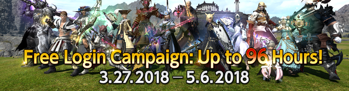 Campaign Eligible Players Can Play FFXIV For Free For Up To 96 Hours